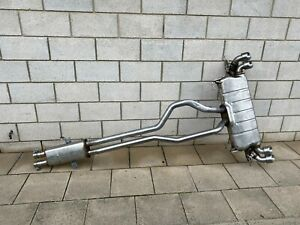 LAND ROVER DEFENDER L663 LR110 V8 LWB complete exhaust system rear box and tips