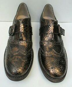 Women's Clarks Tomina Mia New Bronze Shoes - Size UK 6.5 - 7 D