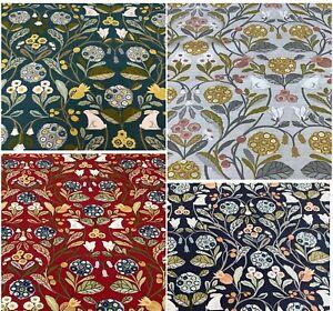 Clarke + Clarke-Studio G- FORESTER Cotton Fabric.Upholstery/Curtain/Craft