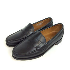 Allen Edmonds Cavanaugh Penny Loafer Size 11 D Black Leather Dress Shoes 50021S