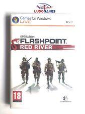 Operation Flashpoint Red River PC Nuevo Precintado Sealed Videojuego PAL/SPA