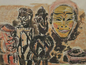 Eduard Hopf 1901 - 1973 - Masks Africa African Masks