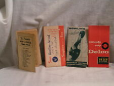 1950'S-60'S BOWLING RECORDS AND SCHEDULE AND A DELCO POCKET NOTE PAD