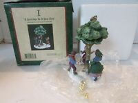 DEPT 56 58351 DICKENS VILLAGE I A PARTRIDGE IN A PEAR TREE 12 DAYS OF CHRISTMAS