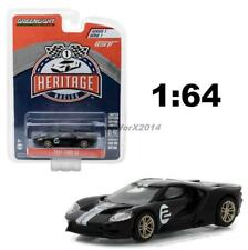 GREENLIGHT 13200 A HERITAGE RACING 2017 FORD GT 40 MKII #2 DIECAST 1:64 BLACK