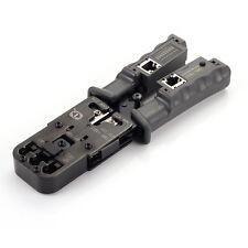 RJ11 RJ12 RJ45 RJ9 6P/DEC 4P 8P Lan Ethernet Network Cable Crimper Tool Tester