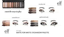 e.l.f. Studio Mad for Matte Eyeshadow Palette elf Eye Shadow 10 shades