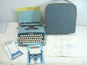 Brother Opus 885 Manual Typewriter Vintage AS IS