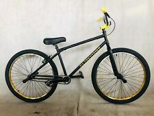 "2020 R4 26"" Complete BMX Bike Cruiser Bicycle W/ Stunt Pegs (Black & Gold)"