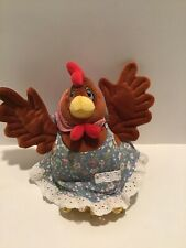 """Chicken Soup For The Soul Chicken  7"""" Stuffed Animal Plush 1999 RARE"""