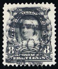 306, Used 8¢ Superb Gem With JUMBO Margins - Stuart Katz