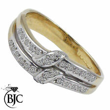 Cluster Not Enhanced Yellow Gold I1 Fine Diamond Rings