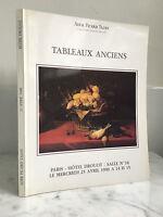 Catalogue Di Vendita Tajan Ader Picard Antico 25 Avril 1990