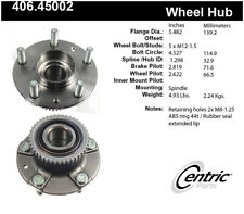 Wheel Bearing and Hub Assembly-Premium Hubs Rear,Front Centric 406.45002