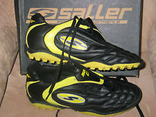 "NEW SALLER ""WORLD CUP PRO SOCCER CLEATS"" SIZE 11 YELLOW NIB"
