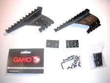 Gamo Quad Rail Tactical Scope/Torch Mount - PT-85, P-25, C15 Mk2 Blowback Pistol