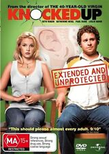 KNOCKED UP DVD (2007) RATED MA15+ REGION 4