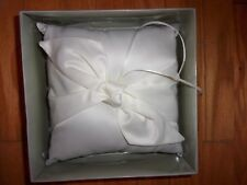 Studio His & Her Ring Pillow New In Package Wedding Bride & Groom LARGE 7 INCH