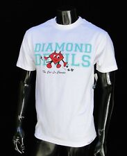 Diamons Supply co. Devils Skateboard Mens White T shirt Size Medium
