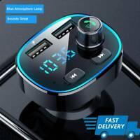 Bluetooth MP3 Player Freisprecheinrichtung Dual USB Charger Kit