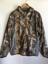 Nomad Zipper Warm Jacket Hunting Outdoors Camouflage Coat Size L Large Men's