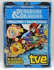 Rare Spanish vintage TSR Dungeons & Dragons CARTOON comic book #1 Spain VENGER !
