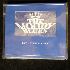 NEW SEALED THE MOODY BLUES - SAY IT WITH LOVE PROMO CD SINGLE
