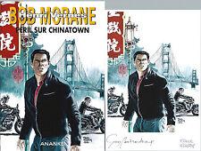 EO GUY BONNARDEAU BOB MORANE HC 52 + EX LIBRIS SIGNÉ : PÉRIL SUR CHINATOWN