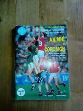 GAA 1988 All Ireland football final Meath v Cork DRAW official match programme