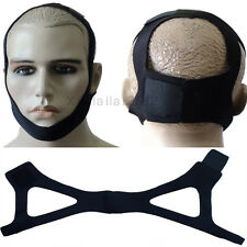 Professional Stop Sleep Snoring Solution Anti Snore Chin Support Strap Belt yu