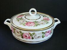 Royal Worcester ~ Royal Garden ~ Round Covered Vegetable Bowl