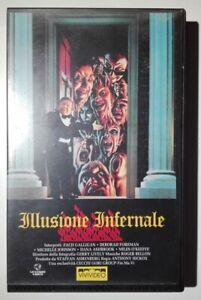 ILLUSIONE INFERNALE - VHS (Waxwork) - Ex noleggio Rarissimo