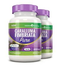Caralluma Pure Fimbriata Weight Loss Pills 500mg 120 Capsules Evolution Slimming