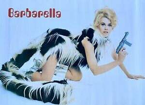 RARE 1998 Jane Fonda Barbarella Poster NOS