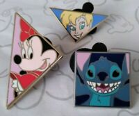 Mickey Mouse and Friends Tangram Pin Set Shapes Choose a Disney Pin
