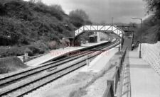 PHOTO  GWR DANESCOURT RAILWAY STATION VIEW OF THE NEW STATION ON THE CITY LINE N