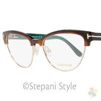 Tom Ford Cateye Eyeglasses TF5365 052 Size: 54mm Havana/Gold FT5365