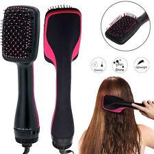 2in1 Professional One Step Hair Blower Dryer Styler Salon Brush Straightener
