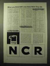 1964 NCR Electronic Data Procesing Systems Ad
