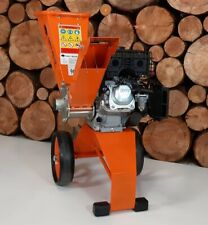 FOREST MASTER Compact 6hp Petrol Electric start. Self feeding Wood Chipper