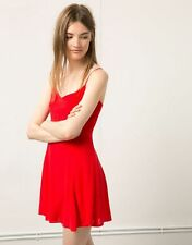 Berska red spaghetti-strap dress - FREE international shipping
