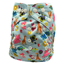 Modern Cloth Nappy Pocket Diapers liner insert One Size Fits All Easy Use (D74)