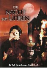 Night Of Clocks DVD X Rated Kult Jean Rollin 2008 Horror La Nuit Des Horloges