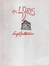 Ex libris Luigi Bartolini - L'Asterisco Jesi 1989