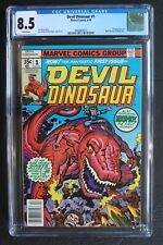 DEVIL DINOSAUR #1 1st MOON-BOY Marvel 1978 KIRBY Disney TV Cartoon CGC VF+ 8.5