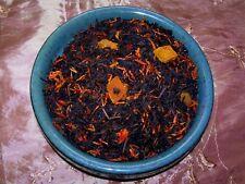 Tea Peach Black Fruit Symphony Flavored Loose Leaf Aged Loose Tea Blend Natural