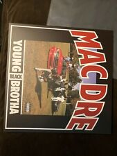 """New listing Mac Dre Young Black Brotha EP 12"""" vinyl Limited Edition Red wax Bay Area e-40"""