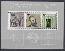 Briefmarken aus der BRD (1980-1989) mit Post- & Kommunikations-Motiv