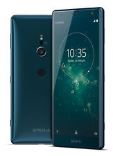 Sony Xperia xz2 64 GB-RAM 4 GB  O2 network smart phone Blue