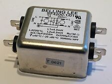 SF4200-1/01N BELLING LEE 1A 250V MAINS SUPPRESSOR FILTER BEST QUALITY     fd2j87
